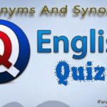 General English Questions and Answers Quiz -04 (English Vocabulary- Antonyms Quiz)