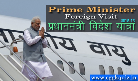 general knowledge questions about narendra modi foreign visit- india prime minister foreign visits and trip 2019, 2018, 2017, 2016, 2015 gk quiz in hindi | india's president pranab mukherjee with all pm visit to neighbour countries/ foreign tour | indian prime minister current affairs hindi pdf etc.
