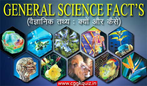 general science fact gk quiz in hindi | what, why and how | general knowledge questions about scientific fact related science theory, rules and laws of light, liquid, force, reflection and convex, concave mirrors, gravity, surface tension, wavelength and science game | online biology gk questions with answers quiz.