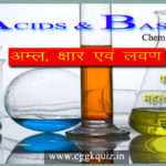 Acids and Bases General Science, acids and bases question, chemistry gk in hindi, chemistry question in hindi